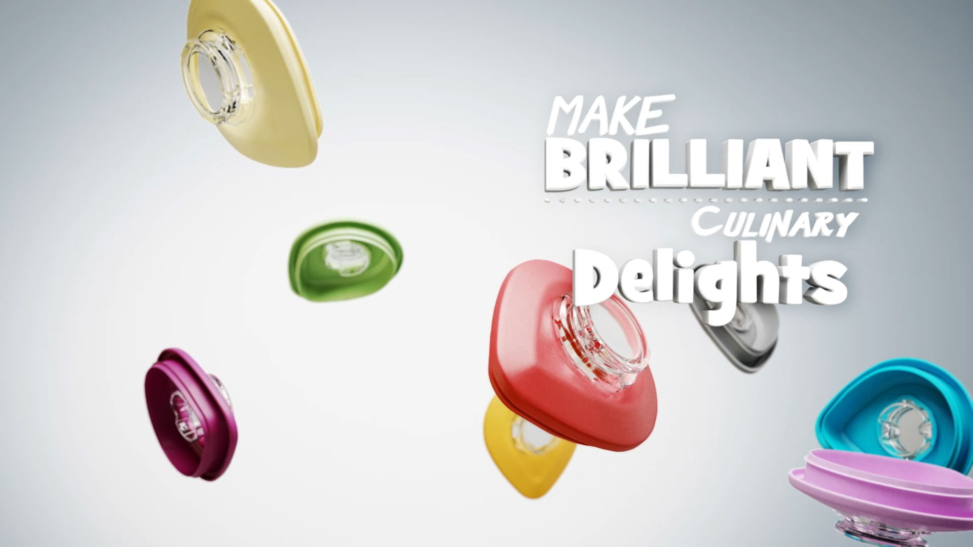kitchenaid make brilliant culinary delights diamondblend lids in various colours