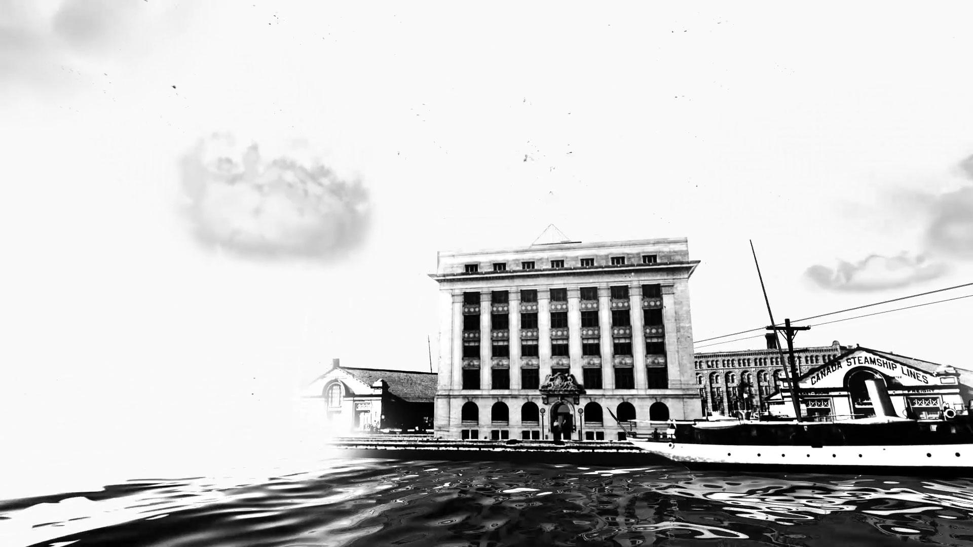 Toronto port authority building