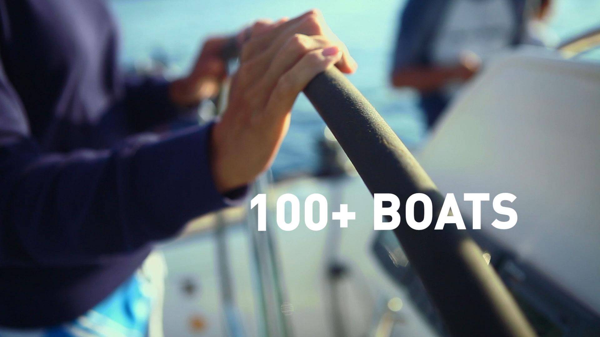 100 + Boats