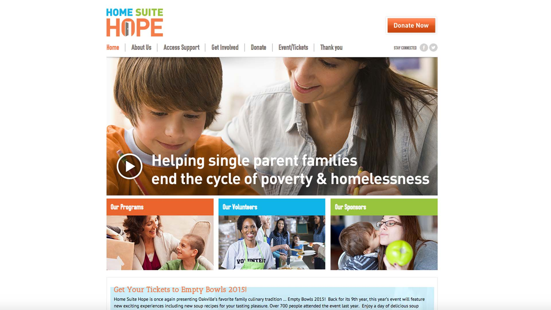 home suite hope website home page